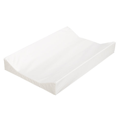Buy John Lewis Baby Wedge Changing Mat, White Online at johnlewis.com