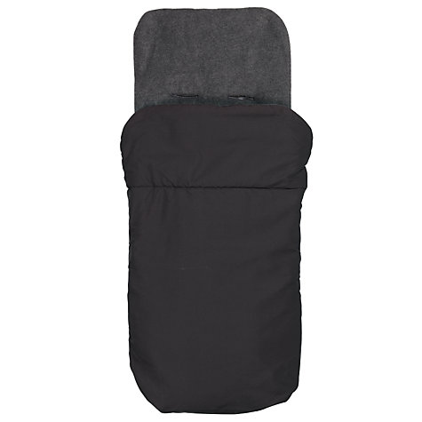 Buy John Lewis Baby Footmuff, Black/Charcoal Online at johnlewis.com