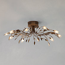 Buy John Lewis Olea Ceiling Light, 10 Arm Online at johnlewis.com