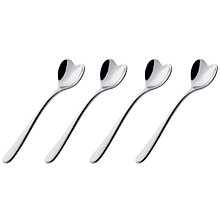 Buy Alessi Heart Espresso Spoons, Set of 4 Online at johnlewis.com