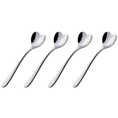 Buy Alessi Big Love Heart Espresso Spoons, Set of 4 Online at johnlewis.com