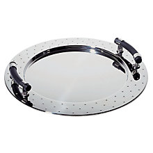 Buy Alessi MGVASS Round Tray with Handles Online at johnlewis.com