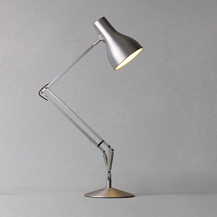Buy Anglepoise Type 75 Energy Saver Lamp, Silver Online at johnlewis.com