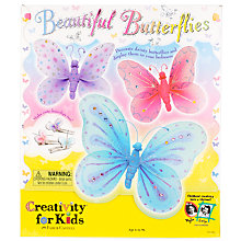 Buy Creativity for Kids Beautiful Butterfly Kit Online at johnlewis.com