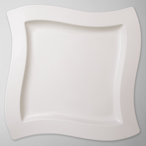 Buy Villeroy & Boch Metropolitan New Wave Platter, 34cm Online at johnlewis.com
