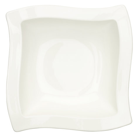 Buy Villeroy & Boch Metropolitan New Wave Salad Bowl, 25cm Online at johnlewis.com