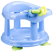 Buy Safety 1st Swivel Bath Seat, Aqua Online at johnlewis.com