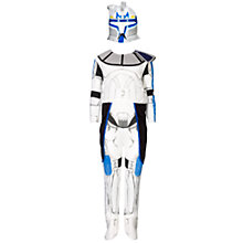 Buy Star Wars Clone Trooper Rex Dressing-Up Costume, 5-7 Years Online at johnlewis.com