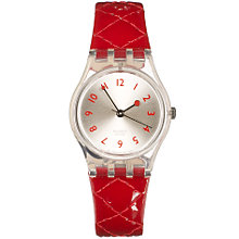 Buy Swatch LK243 Strawberry Jam Ladies Watch, Red Online at johnlewis.com