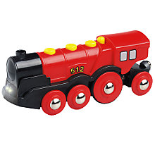 Buy Brio Red Action Locomotive Train Online at johnlewis.com