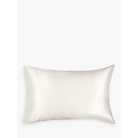 Buy John Lewis Silk Fitted Sheets, Ivory Online at johnlewis.com