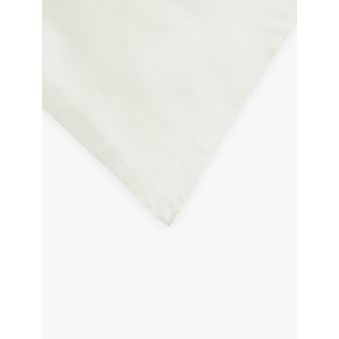 Buy John Lewis Silk Oxford Pillowcase, Ivory Online at johnlewis.com