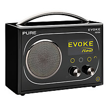 Buy Pure Evoke Flow DAB Internet Radio Online at johnlewis.com