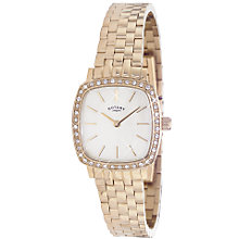 Buy Rotary LB02405/40 Women's Gold PVD Plated Watch Online at johnlewis.com