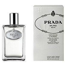 Buy Prada Infusion d'Homme Aftershave Lotion, 100ml Online at johnlewis.com