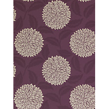 Buy Sanderson Wallpaper, Ceres DAMPCE105, Purple Online at johnlewis.com