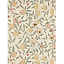 Sanderson Wallpaper, William Morris Fruit, DGW1FU101, Beige / Gold / Coral