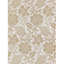 Buy Sanderson Wallpaper, Dauphine DHONDA104, Eggshell / Gold Online at johnlewis.com