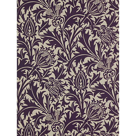 Buy Sanderson William Morris Thistle Wallpaper Online at johnlewis.com