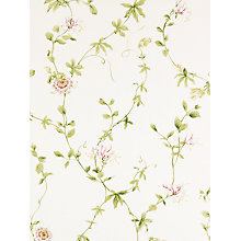Buy Sanderson Wallpaper, Passion Flower DPEMPF102, Red Online at johnlewis.com