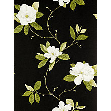 Buy Sanderson Wallpaper, Sweet Bay DPFWSW103, Black / White Online at johnlewis.com