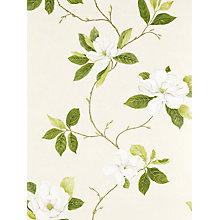 Buy Sanderson Wallpaper, Sweet Bay Green, DPFWSW102 Online at johnlewis.com