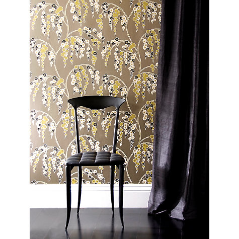 Buy Harlequin Wallpaper, Iola 75638, Lime / Mocha Online at johnlewis.com