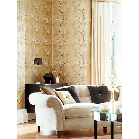 Buy Harlequin Wallpaper, Radiance 75778, Gold Online at johnlewis.com