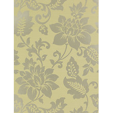 Buy Harlequin Wallpaper, Sophistication 25679, Sage / Gilver Online at johnlewis.com