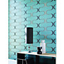 Buy Harlequin Wallpaper, Contour 60639, Sky / Neutral Online at johnlewis.com