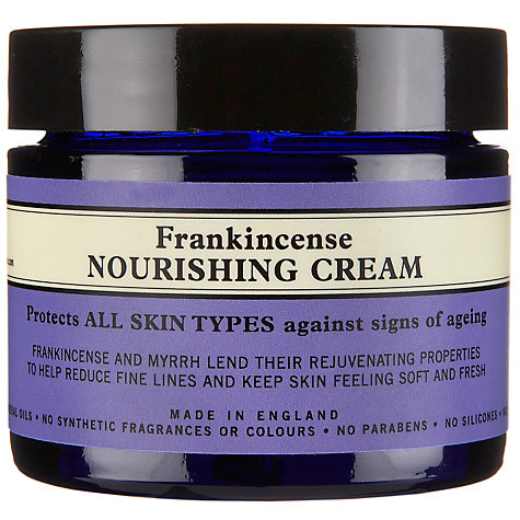 Buy Neal's Yard Frankincense Nourishing Cream, 50g Online at johnlewis.com