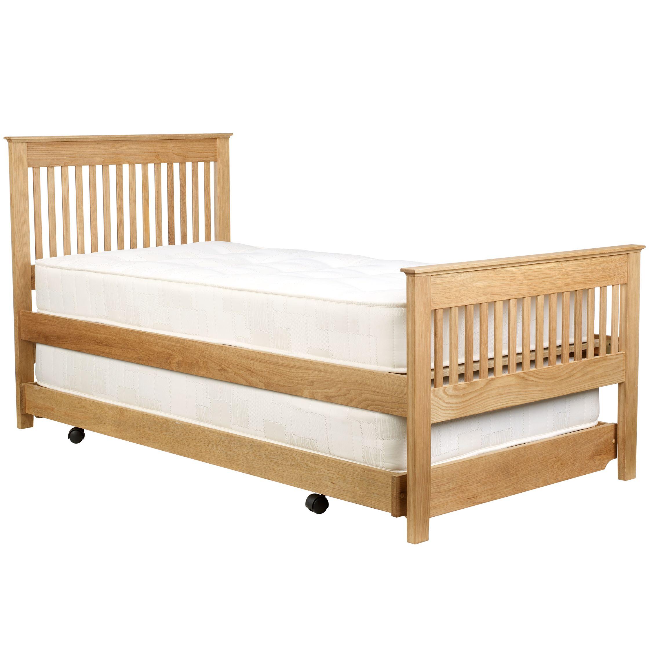 John Lewis Riley Guest Bed, Oak