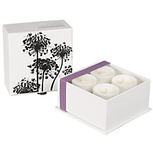 Buy Cowshed Knackered Cow Travel Candles, 4 x 38g Online at johnlewis.com