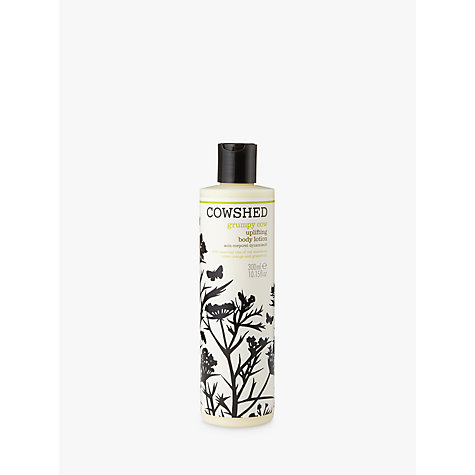 Buy Cowshed Grumpy Cow Uplifting Body Lotion, 300ml Online at johnlewis.com