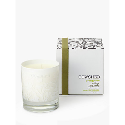 Buy Cowshed Grumpy Cow Uplifting Room Candle, 235g Online at johnlewis.com