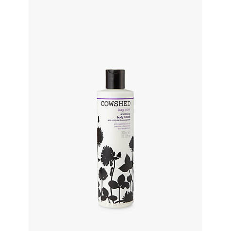 Buy Cowshed Lazy Cow Soothing Body Lotion, 300ml Online at johnlewis.com