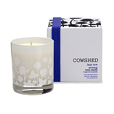Image of Cowshed Lazy Cow Soothing Room Candle, 235g