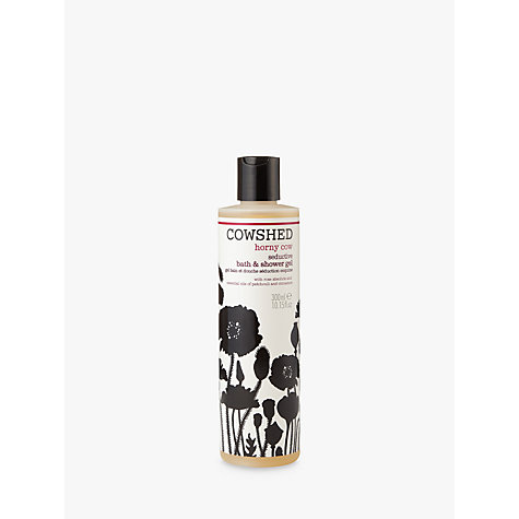 Buy Cowshed Horny Cow Seductive Bath & Shower Gel, 300ml Online at johnlewis.com