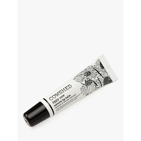 Buy Cowshed Lippy Cow Natural Lip Balm, 12ml Online at johnlewis.com