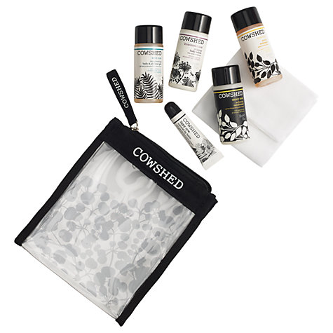 Buy Cowshed Pocket Cow Travel Set Online at johnlewis.com