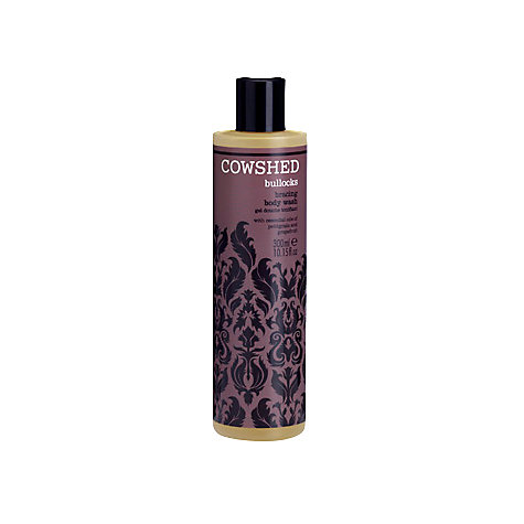 Buy Cowshed Bullocks Bracing Body Wash, 300ml Online at johnlewis.com