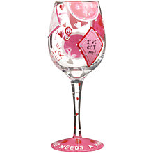 Buy Lolita Who Needs a Man Wine Glass Online at johnlewis.com
