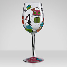 Buy Lolita Shopaholic Wine Glass Online at johnlewis.com