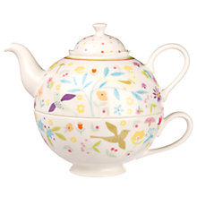 Buy Portmeirion Secret Garden Porcelain Tea For One Online at johnlewis.com