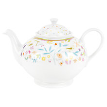 Buy Portmeirion Secret Garden Porcelain Teapot, 1.3L Online at johnlewis.com