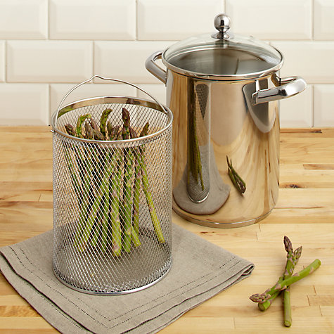 Buy John Lewis Speciality Asparagus Cooker Online at johnlewis.com