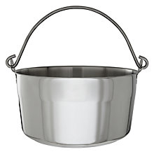 Buy John Lewis Speciality Maslin Pan, 9L Online at johnlewis.com
