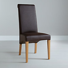 Buy John Lewis Patricia Leather Dining Chair Online at johnlewis.com