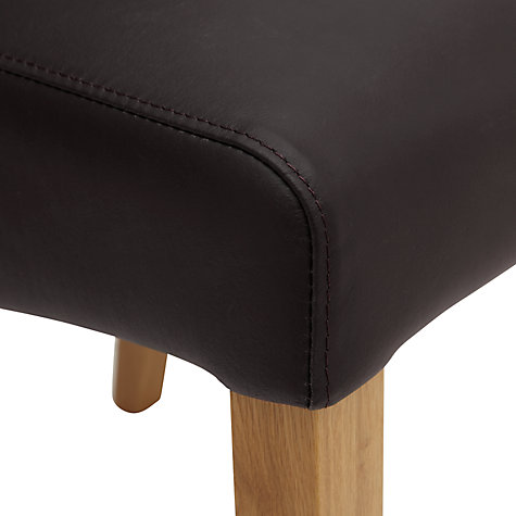 Buy John Lewis Patricia Leather Dining Chairs Online at johnlewis.com