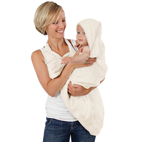 Buy Cuddledry Organic Cotton Apron Bath Towel Online at johnlewis.com